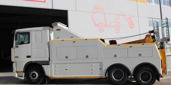 Asistencia industrial pesado vehículo