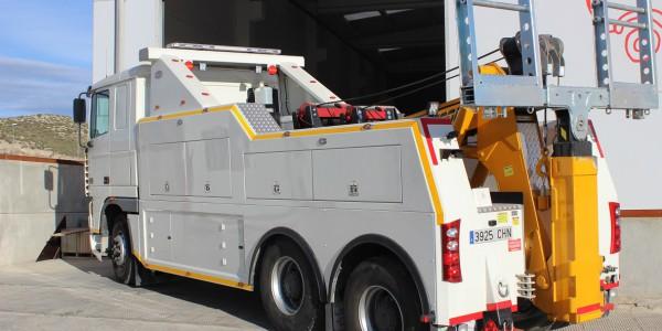 Asistencia industrial pesado vehículo (trasero)