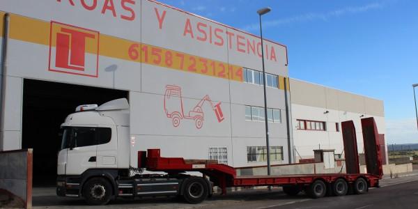 Transporte vehículos especiales